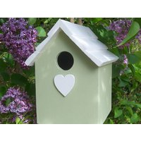 Handmade Hanging Green Bird House - Handmade Gifts