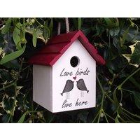 Love Birds Birdhouse - Birds Gifts