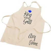 Personalised King of the Grill Apron - Apron Gifts