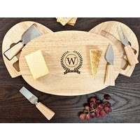 Monogram Feature Classic Cheese Board Set Picture