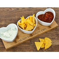 Heart Bowls for Dips Jams and Chutneys - Bowls Gifts