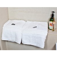Set of Two Luxury Bath Towels