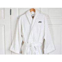 Luxury Egyptian Cotton Bath Robe (Adult) - Adult Gifts