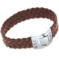 Personalised Soft Leather Bracelet Picture