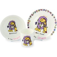 Bang On The Door Animal Alphabet Girls Breakfast Set - Girls Gifts