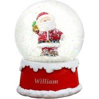 Santa Snow Globe