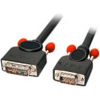 LINDY DVI / VGA Câble de raccordement [1x DVI mâle 12+5 pôles - 1x VGA mâle] 3 m noir (41197)