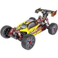 Carson Modellsport Virus 6S 120 km/h Brushless 1:8 RC Modellauto Elektro Buggy Allradantrieb (4WD) 100% RtR 2,4 GHz