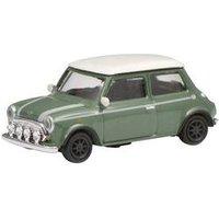 Schuco 452639200 H0 Mini Cooper, grün weiß