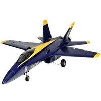 RC Düsenjet Amewi F18 Jet Blue Angel Blau Gelb  PNP 686*