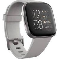 Fitbit Versa 2 Stone/MistGrey aluminium Smartwatch