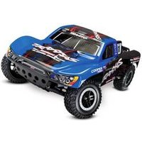 Traxxas Slash VXL Schwarz, Blau Brushless 1:10 RC Modellauto Elektro Short Course Heckantrieb (2WD) RtR 2,4 GHz
