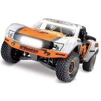 Traxxas Unlimited Desert VXL Fox Weiß, Orange Brushless RC Modellauto Elektro Short Course Allradantrieb (4WD) RtR 2,4 GHz