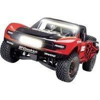 Traxxas Unlimited Desert VXL Rigid Rot, Schwarz Brushless RC Modellauto Elektro Short Course Allradantrieb (4WD) RtR 2,4 GHz