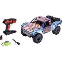 Carson Modellsport Amphi Pow.Truck Orange Brushed 1:10 RC Modellauto Elektro Short Course Allradantrieb (4WD) RtR 2,4 GHz