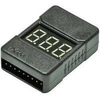 EXTRON Modellbau Voltmeter geeignet für Zellen: 1 - 8 1 St. X5503