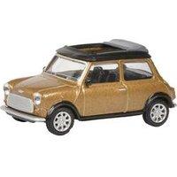Schuco Mini Cooper braun met. 1:64 Modellauto