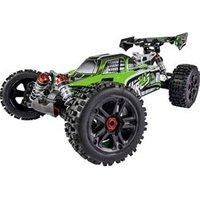 Carson Modellsport Virus 4.1 XL 4S Grün Brushless 1:8 RC Modellauto Elektro Buggy Allradantrieb (4WD) RtR 2,4 GHz