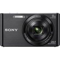 Fotokamera, Sony, » DSCW830B Schwarz« (DSCW830B.CE3)