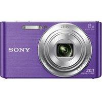 Sony Dsc-W830 Cybershot violett Kompaktkamera (DSCW830V.CE3)