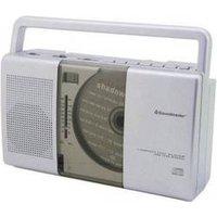 Radio-CD FM SoundMaster RCD1150 argent
