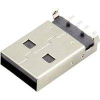 USB A Stecker Buchse, Einbau horizontal DS1098-BN0 DS1098-BN0 Connfly Inhalt: 1 St.