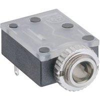 Lumberg 1503 17 Klinken-Steckverbinder 3.5 mm Buchse, Einbau horizontal Polzahl: 3 Stereo Schwarz 1 St.