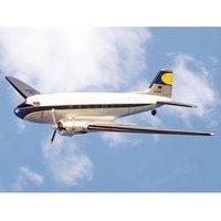 VQ Douglas DC-3 Weiß, Blau RC Motorflugmodell ARF 1800 mm*