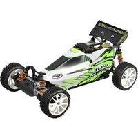 FG Modellsport Fun Cross Pro 1:6 RC Modellauto Benzin Buggy Allradantrieb (4WD) RtR 2,4 GHz inkl. Akku, Ladegerät und Senderbatterien