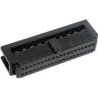 TRU COMPONENTS 1589657 Pfosten-Steckverbinder mit Zugentlastung Rastermaß: 1.27 mm Polzahl Gesamt: 30 Anzahl Reihen: 2 1 St.