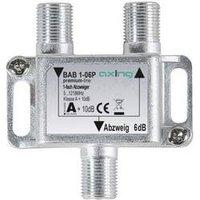 Axing BAB 1-06P Kabel-TV Abzweiger 1-fach 5 - 1218 MHz