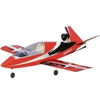 RC Düsenjet VQ Hornet EDF Rot  ARF 1400