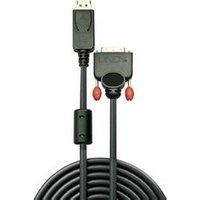 LINDY DisplayPort / DVI Câble de raccordement [1x DisplayPort mâle - 1x DVI mâle 24+1 pôles] 5 m noir (41493)