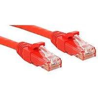 Lindy Premium cordon de raccordement - 3 m - rouge
