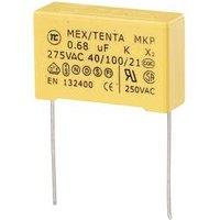 TRU COMPONENTS MKP-X2 1 St. MKP-X2-Funkentstör-Kondensator radial bedrahtet 0.56 µF 275 V/AC 10 % 27.5 mm (L x B x H) 30 x 11 x 20 mm