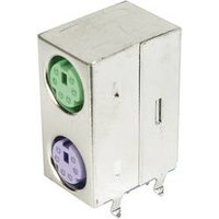 Mini-DIN-Dual Port-Buchse, geschirmt TRU COMPONENTS Inhalt: 1 St.