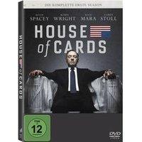 DVD House of Cards - Die komplette erste Season (4 DVDs) FSK: 12