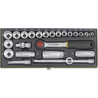 Proxxon Industrial 23110 Compact Set - 3/8'' Ratchet 6 - 24mm Sock