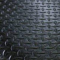 Anti-Ermüdungsmatte aus geschäumten PVC - Breite 1200 mm - schwarz pro lfd. m