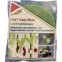 FASTECH® 701-322-Bag Hook-and-loop tape for houseplants and garden Hook and loop pad (L x W) 5000 mm x 10 mm Green 5 m