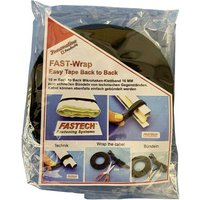 FASTECH® 702-330-Bag Hook-and-loop tape for houseplants and garden Hook and loop pad (L x W) 10000 mm x 16 mm Black 10 m