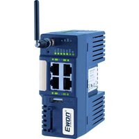 EWON Cosy 131 3G Industrial router LAN, 3G, RJ-45 No. of inputs: 2 x No. of outputs: 2 x 12 V DC, 24 V DC