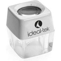 Ideal Tek 812-01 Stand magnifier Magnification: 8 x Lens size: (Ø) 24 mm White
