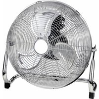 Basetech Floor fan 60 W Chrome