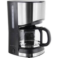 EMERIO CME-111063 Coffee maker Stainless steel, Black Cup volume=6