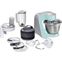 Bosch Haushalt MUM58020 Food processor 1000 W Turquoise, Silver (matt)