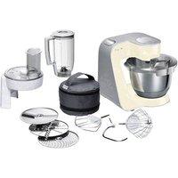 Bosch Haushalt MUM58920 Food processor 1000 W Vanilla, Silver (matt)