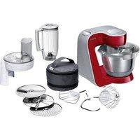 Bosch Haushalt MUM58720 Food processor 1000 W Dark red, Silver (matt)
