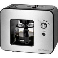 Profi Cook PC-KA 1152 Coffee maker Stainless steel, Black Cup volume=5 incl. grinder