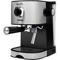 Tristar CM-2275 Espresso machine with sump filter holder Stainless steel, Black 750 W